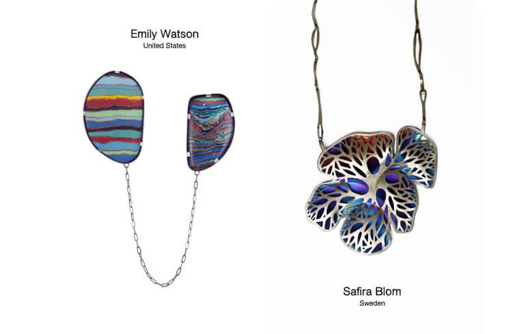 Safira Blom z Szfecji i Emily Watson z USA