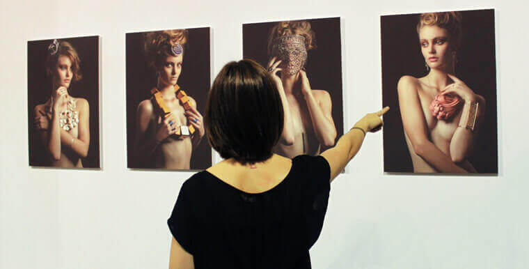 "Series of photos titled ""Nude"" - photographs made by Andrea Bielsa"