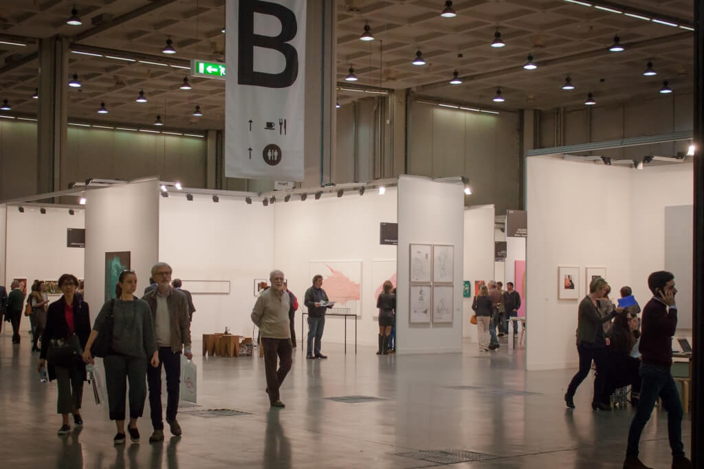 Miart exhibition hall